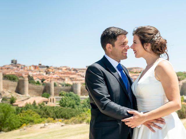 La boda de David y Carmen en Ávila, Ávila 40