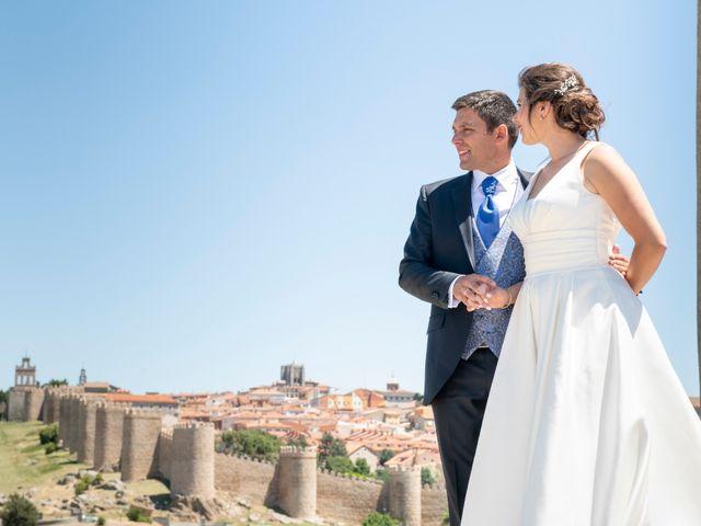La boda de David y Carmen en Ávila, Ávila 41