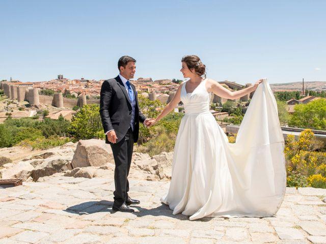 La boda de David y Carmen en Ávila, Ávila 43