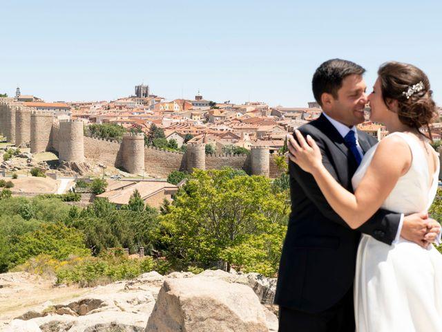 La boda de David y Carmen en Ávila, Ávila 44