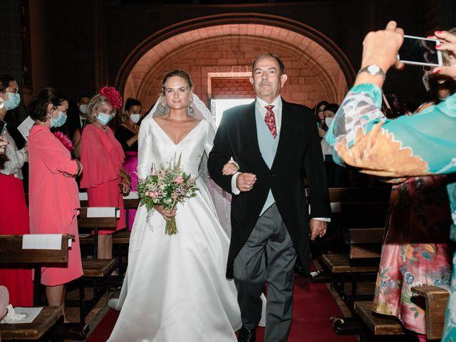La boda de Alberto y Lucinda en San Lorenzo De El Escorial, Madrid 3
