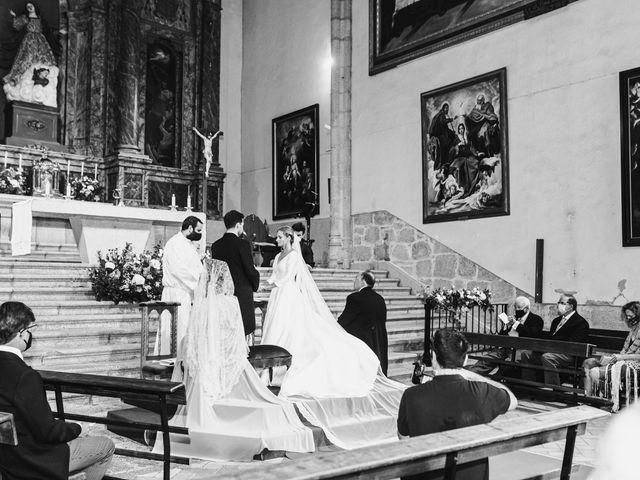 La boda de Alberto y Lucinda en San Lorenzo De El Escorial, Madrid 4
