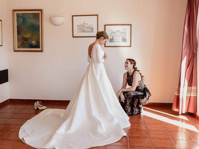 La boda de Alberto y Lucinda en San Lorenzo De El Escorial, Madrid 14
