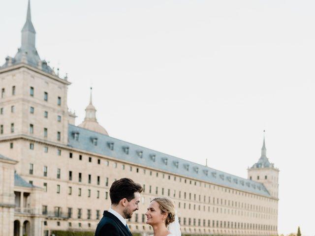La boda de Alberto y Lucinda en San Lorenzo De El Escorial, Madrid 2