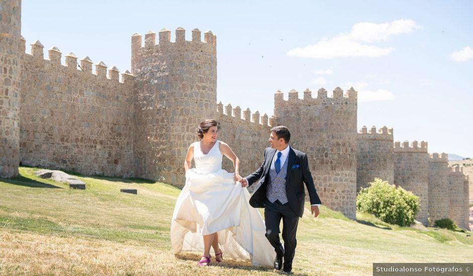 La boda de David y Carmen en Ávila, Ávila