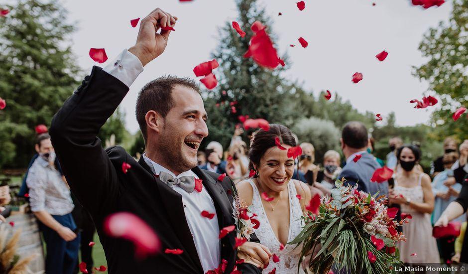 La boda de Lluis y Tania en Sentmenat, Barcelona