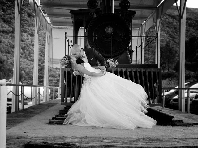 La boda de Cristian y Jessica en O Barco, Orense 23