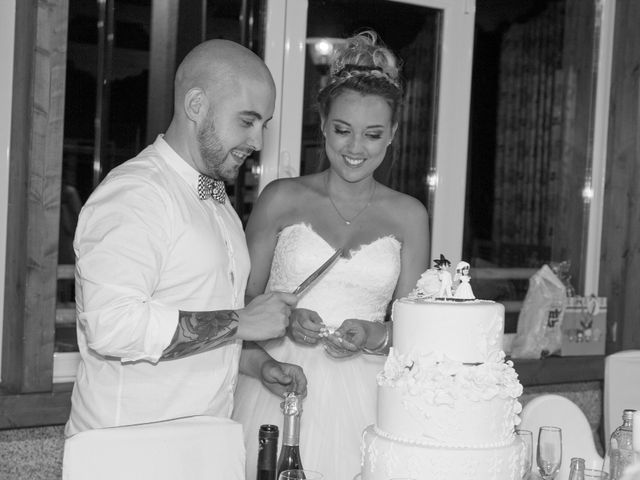 La boda de Cristian y Jessica en O Barco, Orense 33