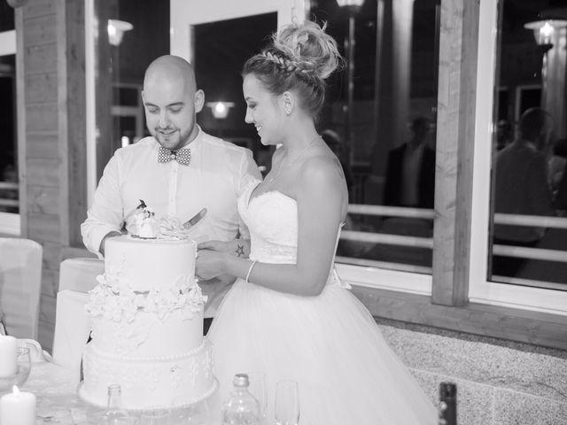 La boda de Cristian y Jessica en O Barco, Orense 34