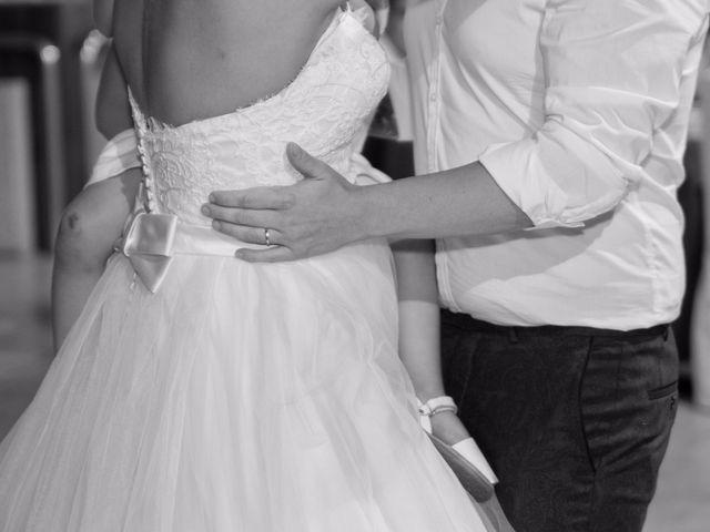 La boda de Cristian y Jessica en O Barco, Orense 35