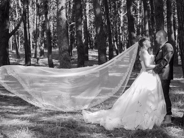 La boda de Cristian y Jessica en O Barco, Orense 42
