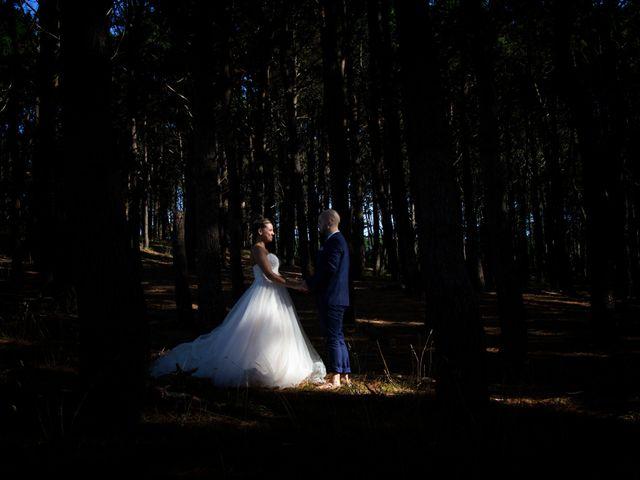 La boda de Cristian y Jessica en O Barco, Orense 43