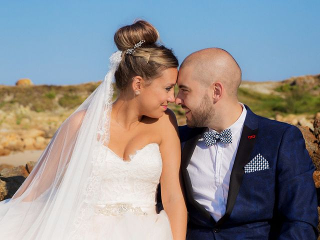 La boda de Cristian y Jessica en O Barco, Orense 45