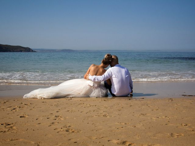 La boda de Cristian y Jessica en O Barco, Orense 49