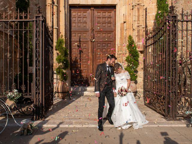 La boda de juan carlos y cari carmen en Villarrobledo, Albacete 9
