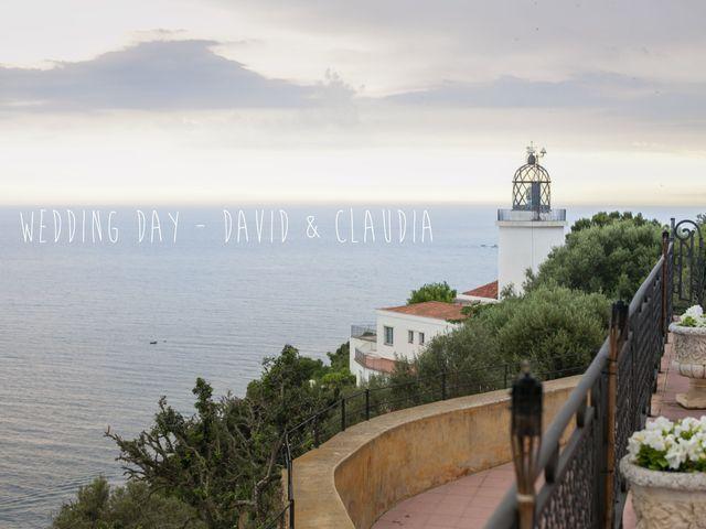 La boda de David y Claudia en Llafranc, Girona 1