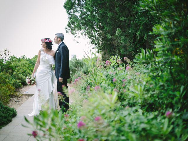 La boda de David y Claudia en Llafranc, Girona 21