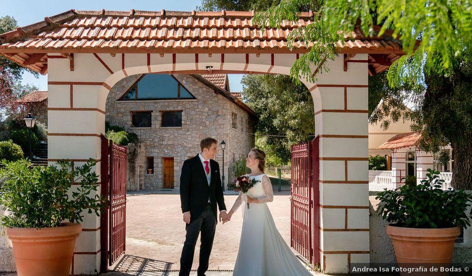 La boda de Samuel y María en Collado Villalba, Madrid