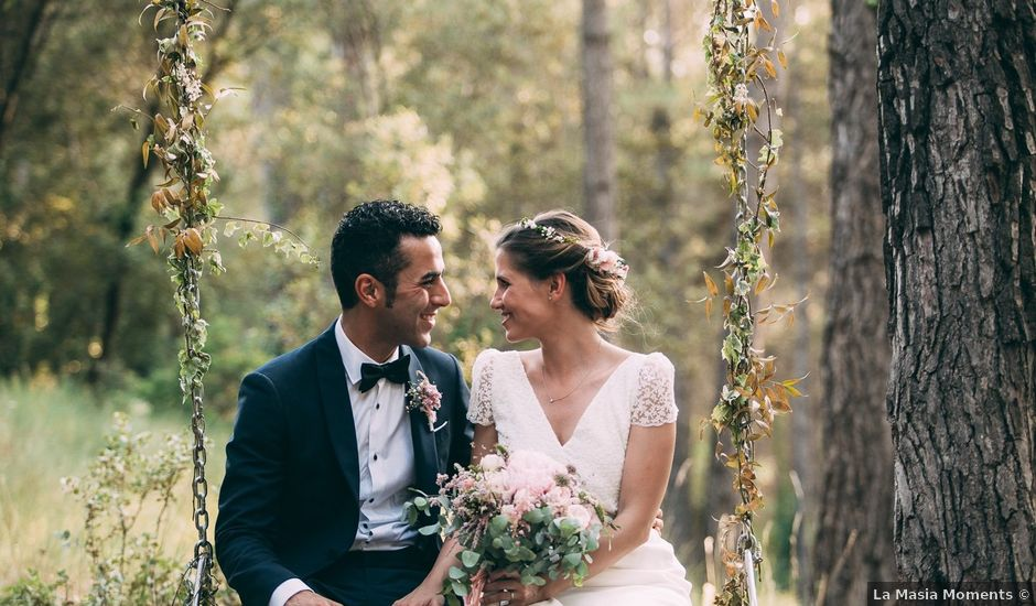 La boda de Alexis y Laura en Castelladral, Barcelona