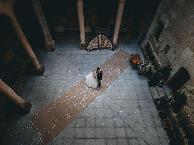 La boda de Alfonso y Laura en Topas, Salamanca 5