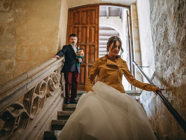 La boda de Alfonso y Laura en Topas, Salamanca 8