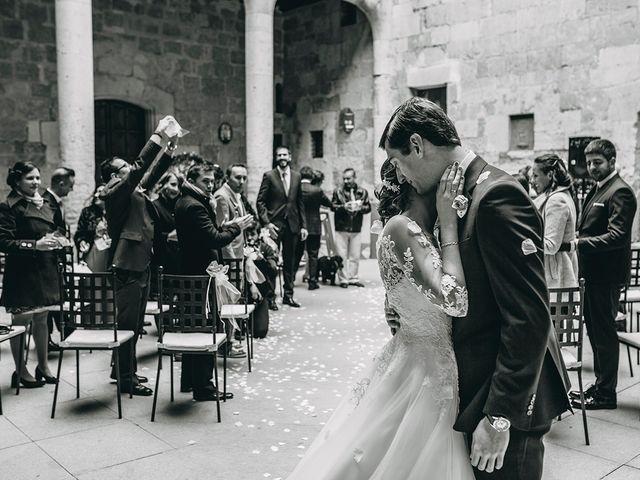 La boda de Alfonso y Laura en Topas, Salamanca 11