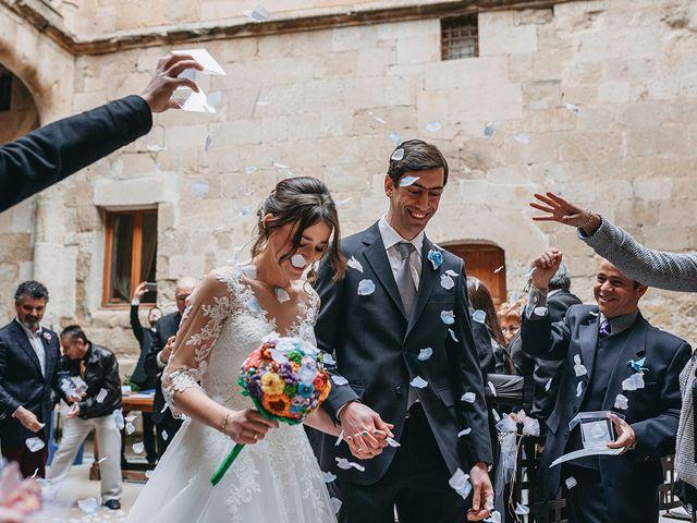 La boda de Alfonso y Laura en Topas, Salamanca 12