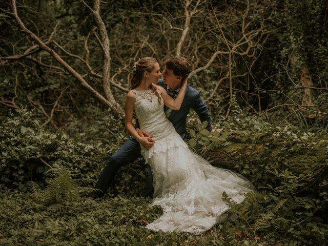 La boda de David y María en Hondarribia, Guipúzcoa 1