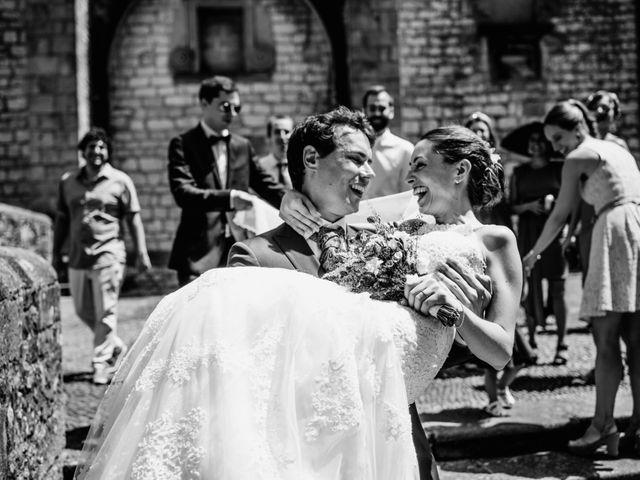 La boda de David y María en Hondarribia, Guipúzcoa 14