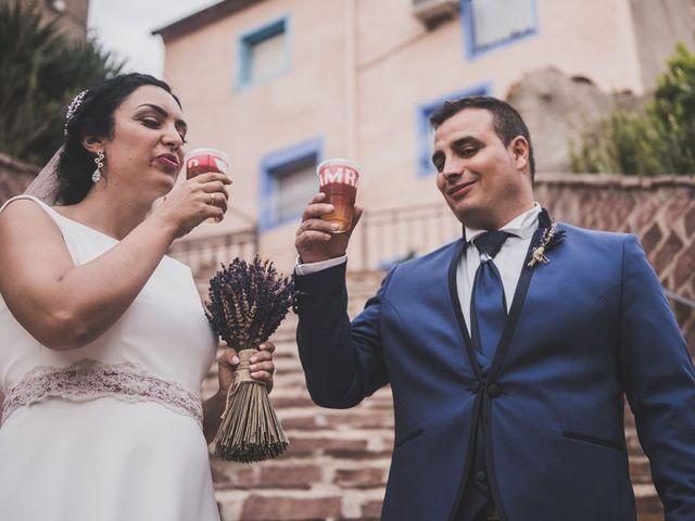 La boda de Juanma y Cristina en Sestrica, Zaragoza 1