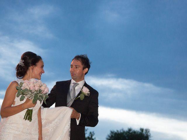 La boda de David y Ana en El Molar, Madrid 1