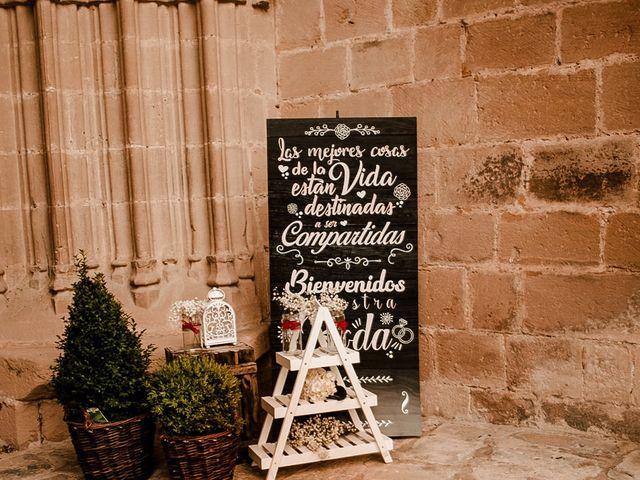La boda de Bea y Iker en Santa Gadea Del Cid, Burgos 25