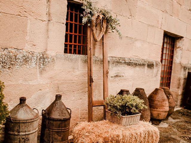 La boda de Bea y Iker en Santa Gadea Del Cid, Burgos 27