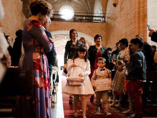 La boda de Bea y Iker en Santa Gadea Del Cid, Burgos 33