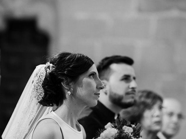 La boda de Bea y Iker en Santa Gadea Del Cid, Burgos 35