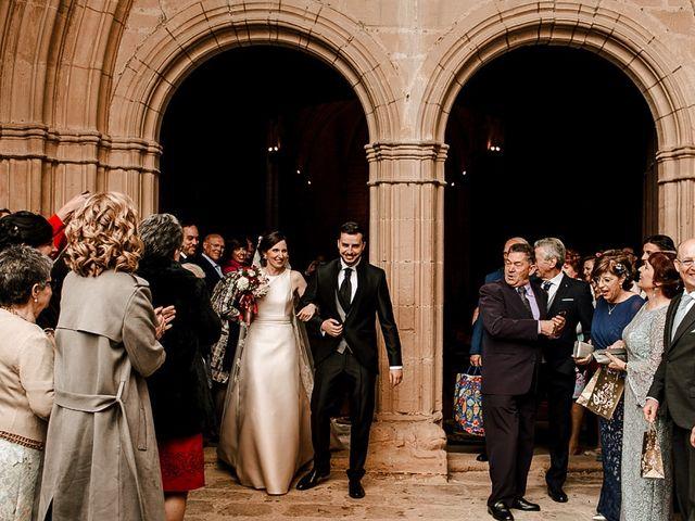 La boda de Bea y Iker en Santa Gadea Del Cid, Burgos 45