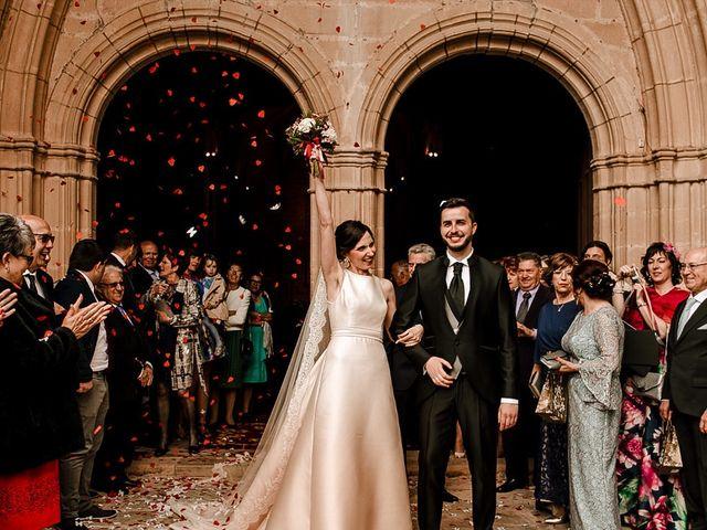 La boda de Bea y Iker en Santa Gadea Del Cid, Burgos 46