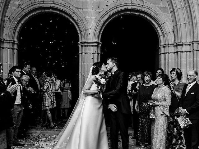 La boda de Bea y Iker en Santa Gadea Del Cid, Burgos 47