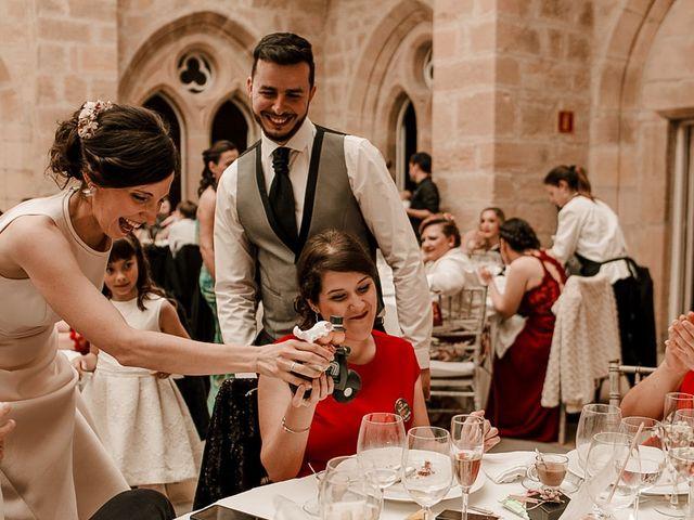 La boda de Bea y Iker en Santa Gadea Del Cid, Burgos 81