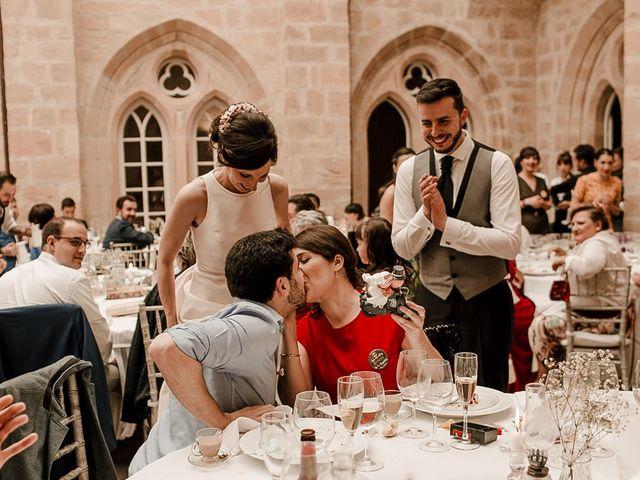 La boda de Bea y Iker en Santa Gadea Del Cid, Burgos 82