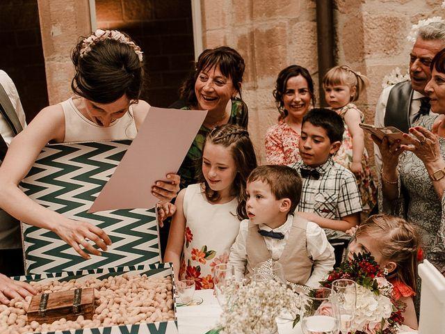 La boda de Bea y Iker en Santa Gadea Del Cid, Burgos 91
