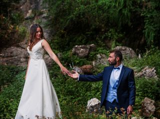 La boda de Maleni y José B