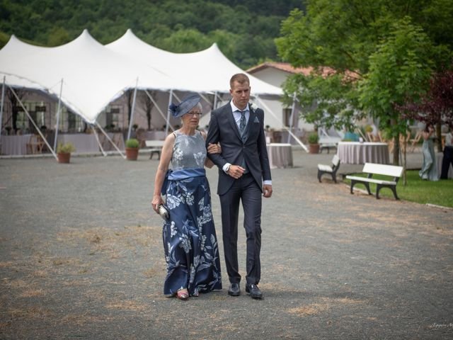 La boda de Cristian y Ana en Señorio De Bertiz, Navarra 10
