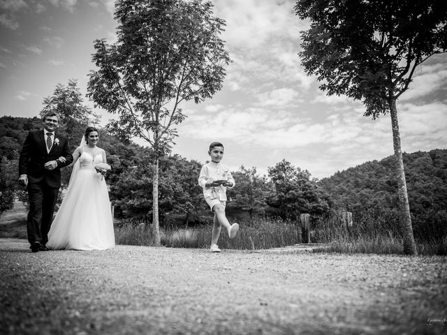 La boda de Cristian y Ana en Señorio De Bertiz, Navarra 11
