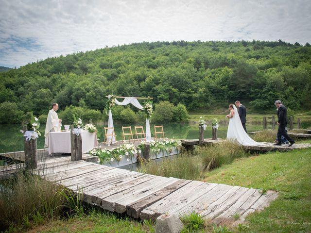 La boda de Cristian y Ana en Señorio De Bertiz, Navarra 12