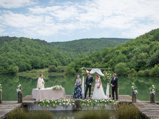 La boda de Cristian y Ana en Señorio De Bertiz, Navarra 13