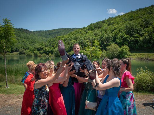La boda de Cristian y Ana en Señorio De Bertiz, Navarra 19