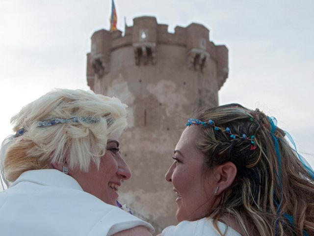 La boda de Eli y Ana en Paterna, Valencia 25