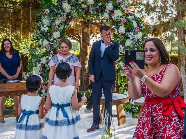 La boda de José B y Maleni en Murcia, Murcia 34