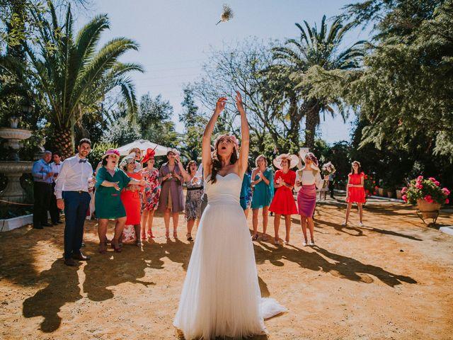 La boda de Ramiro y Lourdes  en Santiponce, Sevilla 36